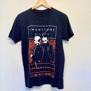 Twenty One Pilots Unisex Graphic Tour Band Tee